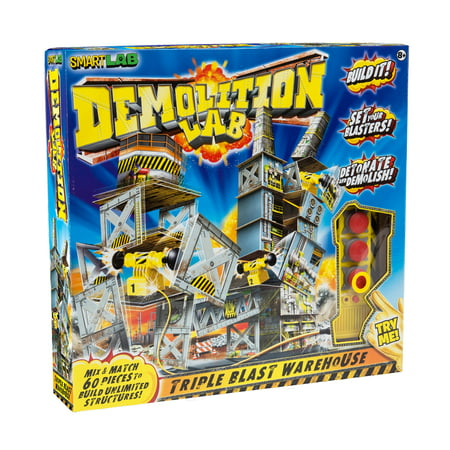 SmartLab Toys - Demolition Lab: Triple Blast Warehouse