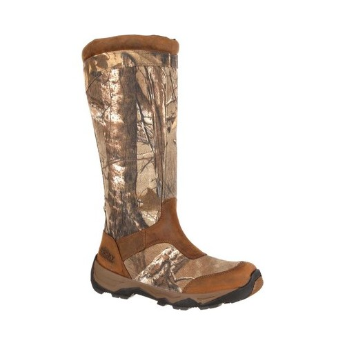 "Men's Rocky 17"" Retraction Snake Boot With Side Zipper RKS0243 by Rocky"