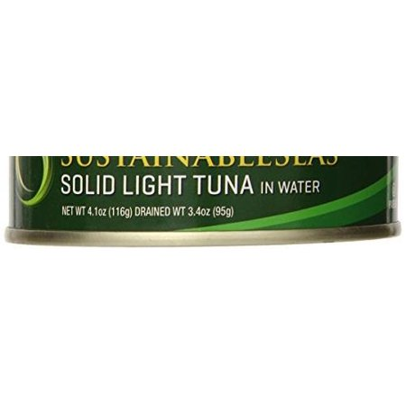 12 Pack Spring - 12 Pack :       Sustainable Seas Wild Skipjack Solid Light Tuna In Spring Water, 4.1 Ounce