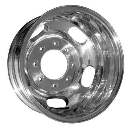 2005-2013 Ford F-250 Super Duty  17x6.5 Aluminum Alloy Wheel, Rim Rear Polished Full Face - 3619 (Stock F250 Rims)