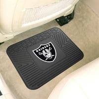 """Fan Mats Oakland Raiders Utility Mat 14""""x17"""""""