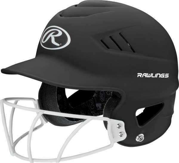 Rawllings Coolflo Highlighter Series Matte Style Softball Batting Helmet by Rawlings