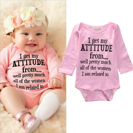 Cotton Newborn Infant Baby Girls Bodysuit Romper Jumpsuit Clothes Outfits