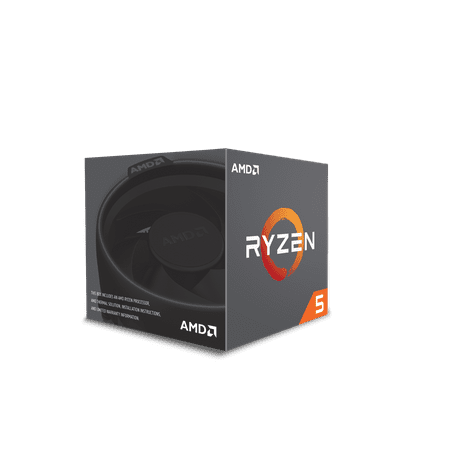 AMD CPU Ryzen 5 2600X - YD260XBCAFBOX (Best Ryzen Cpu For Gaming)