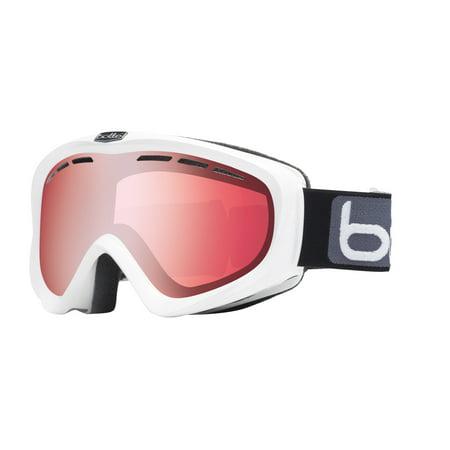 Bolle Y6 OTG Snow Goggles Shiny White / Vermillion Gun Lens