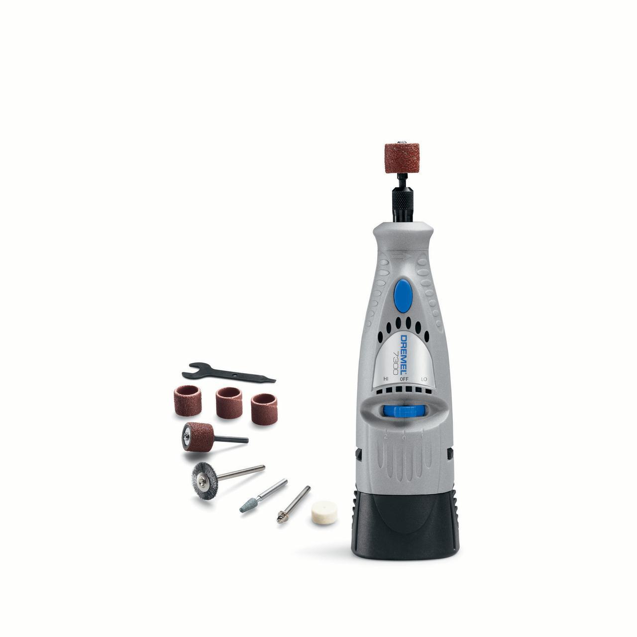 Dremel 7300-N/8 4.8V Cordless Two-Speed Rotary Tool Kit