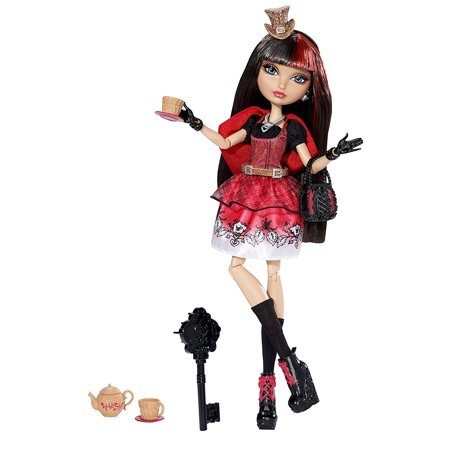 Hat-Tastic Cerise Hood Doll (Discontinued by manufacturer), Cerise Hood is tea-rifficly dressed for Maddie's Hat-tastic Party in a modern.., By Ever After High Ship from US - Ever After High Cerise Wolf