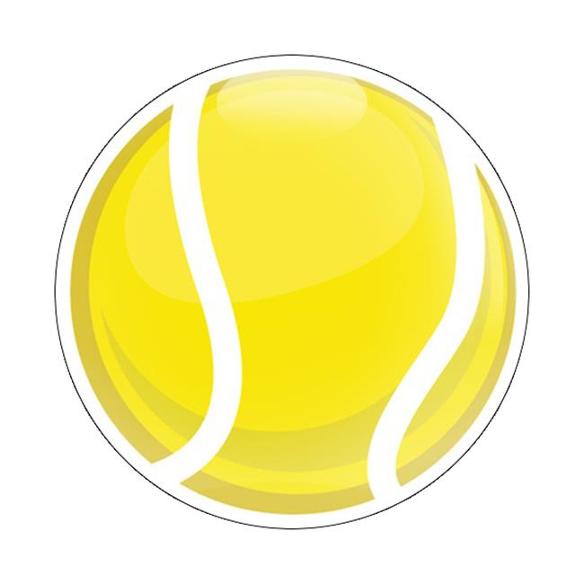 GoBadges CD0509 Magnetic Badge - Sports Tennis Ball