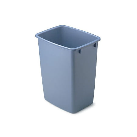 Rubbermaid 1791162 36 Qt Blue Open Wastebasket ()