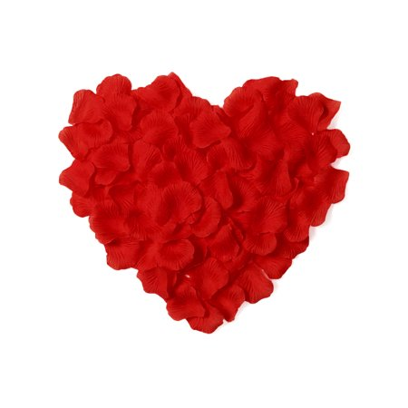 Bulk Rose Petals (500pcs Artificial Silk Rose Flower Petals Wedding Decor Bulk)
