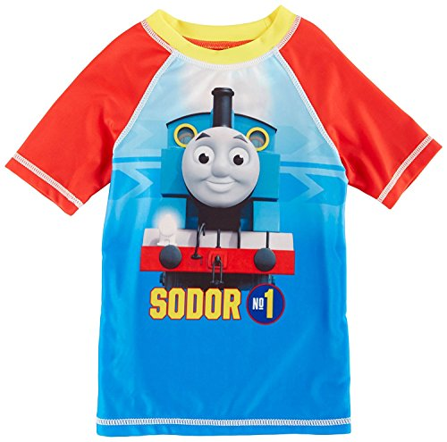 Thomas the Train Toddler Boys Swim Rashguard