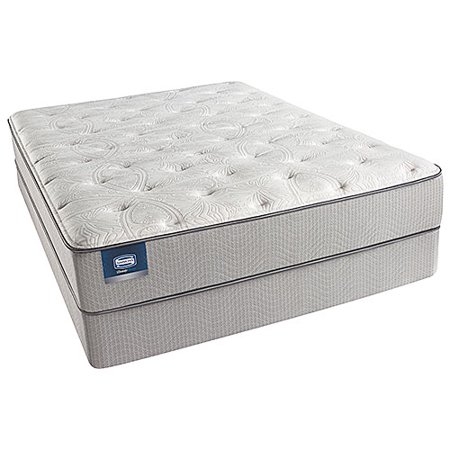 chickering twin xl size plush mattress and low profile box spring set beautysleep. Black Bedroom Furniture Sets. Home Design Ideas