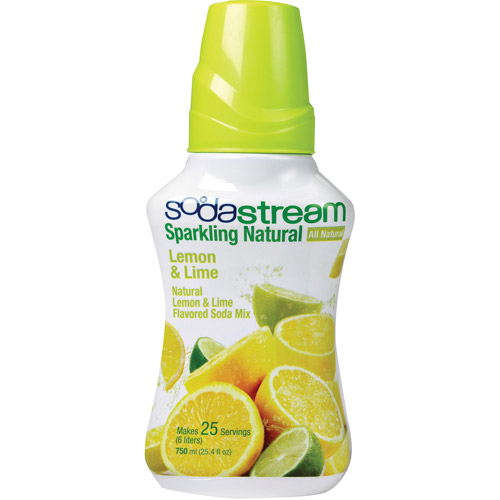 SodaStream Sparking Naturals Natural Lemon and Lime Sodamix, 750 ml