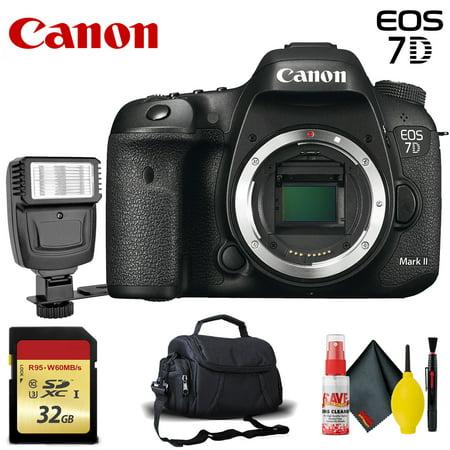 Canon EOS 7D Mark II DSLR Camera (Body Only) + 20.9 MP + Full