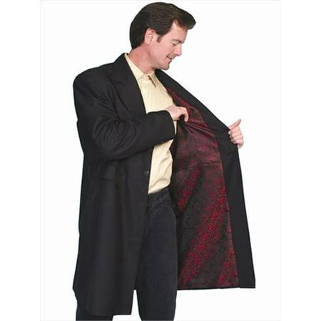 Scully 538489D-BLK-44 Mens Wah Maker Frock Coat - Black, Size 44 - image 1 de 1