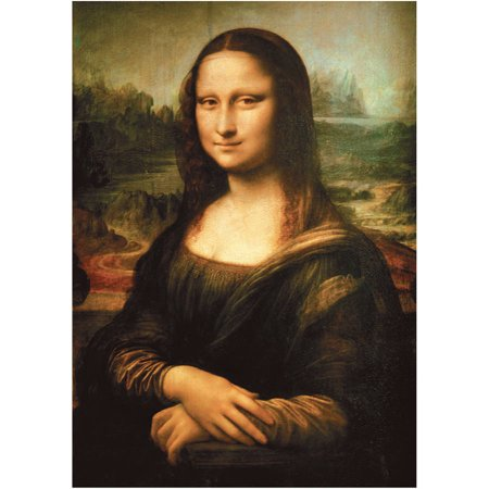 Leonardo Da Vinci  Mona Lisa Jigsaw Puzzle  1000Pcs