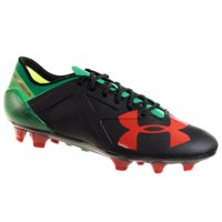 7d23e1ea73fa Product Image UNDER ARMOUR MEN'S SPOTLIGHT FG SOCCER CLEATS BLACK GREEN RED  6.5