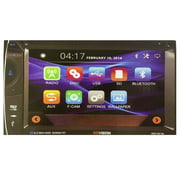 "XO Vision XOD1851 In-Dash Double DIN 6.2"" INCH Wireless Bluetooth Touchscreen Monitor w/ DVD, MP3, AM/FM CAR Receiver, Built-in USB and SD Card Input"