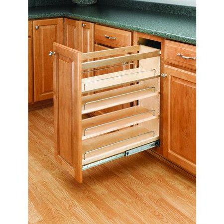 Rev-A-Shelf  448-BC-8C  Pull Out Organizers  448  Base Cabinet Organizers  Shelves  tural Wood