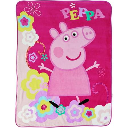Peppa Pig Quot Peppa S Picnic Quot 46 Quot X 60 Quot Throw Walmart Com