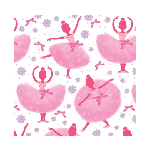 Ballerina Party Beverage Napkins