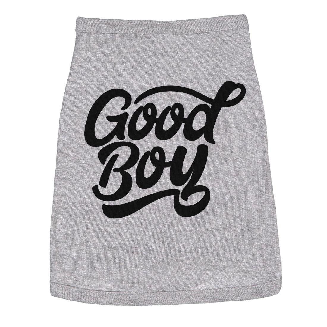 Dog Shirt Good Boy Cute Clothes For Family Pet