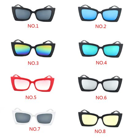Boyijia Women Girls Sunglasses Candy Color Lens Vintage Small Frame Sun Glasses Female Lady Eyewear UV400 - image 2 de 7
