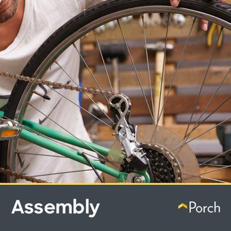 In-Home Bike Assembly by Porch Home Services (Condenser Assembly)
