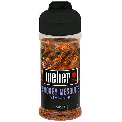 Weber Smoky Mesquite Seasoning, 6.0 oz (Pack of 8)