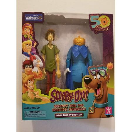 Scooby-Doo Shaggy & The Headless Horseman Action Figures