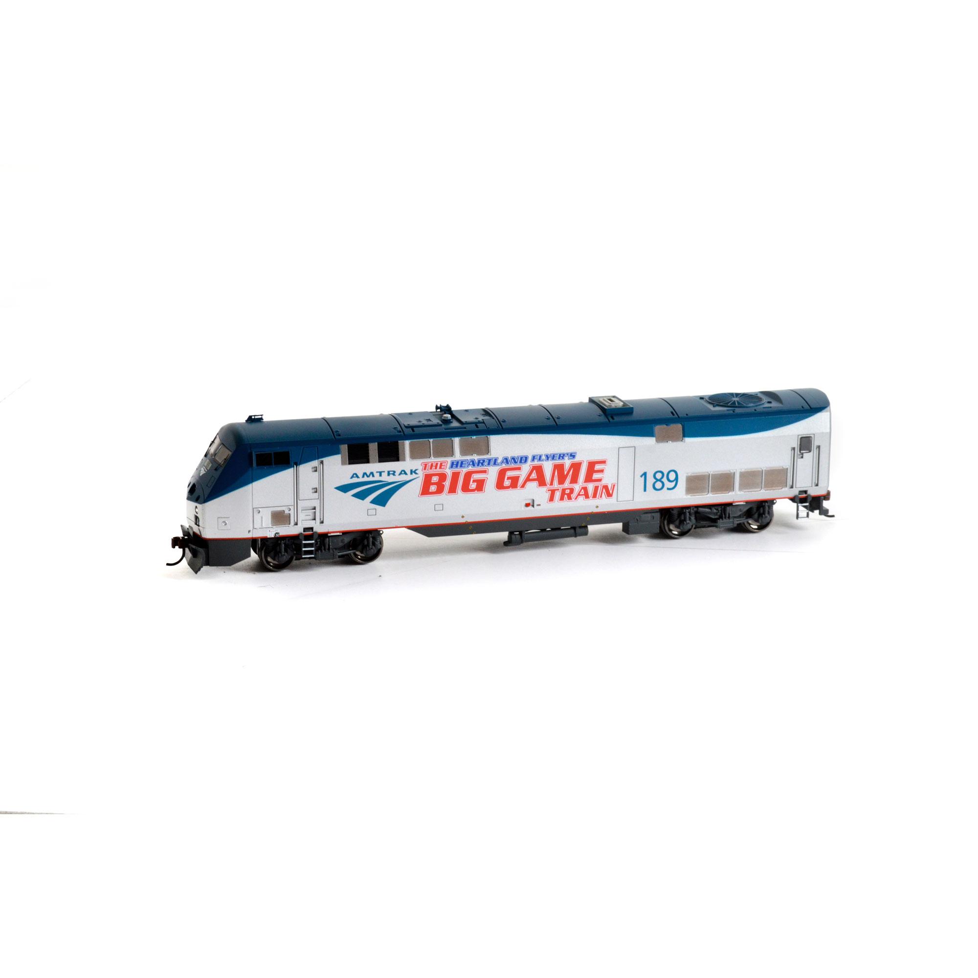 Athearn 88750 HO Amtrak/Phase V Big Game Train AMD103/P42...