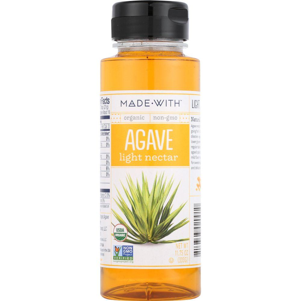 Made With Organic Light Agave Nectar, 11.75 Oz (Pack Of 6)