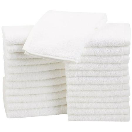 Luxury 100% Cotton Wash Cloth, Face Cloth, 12