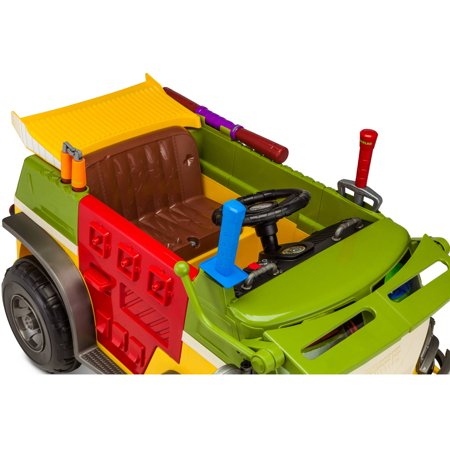 Kid Trax Teenage Mutant Ninja Turtles 6v Battery Powered