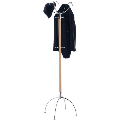 Manhattan Coat and Hat Rack by Organize It All, Inc.