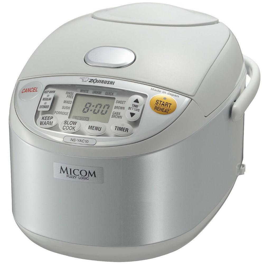 Zojirushi Umami Micom Pearl White Rice Cooker and Warmer, 5.5 Cup