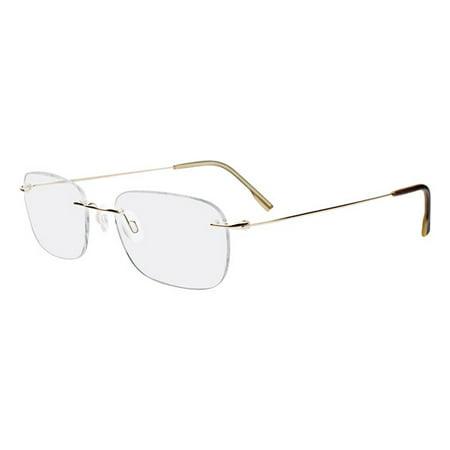 Calvin Klein Collection CK536 Eyeglasses (Kleine Gold Frames)