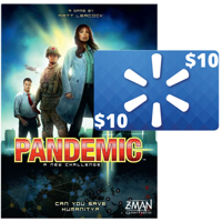 Deals on Pandemic Cooperative Board Game + $10 Walmart GC