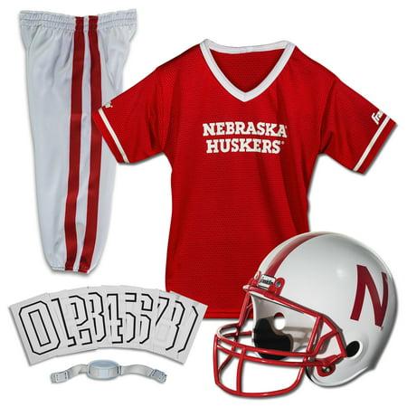 Nebraska Cornhuskers Jersey - Franklin Sports NCAA Nebraska Cornhuskers Uniform Set, Medium