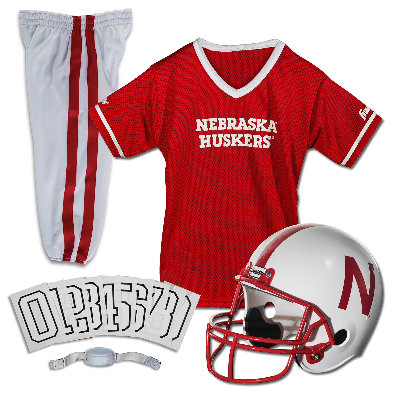 Franklin Sports NCAA Nebraska Cornhuskers Uniform Set, Medium