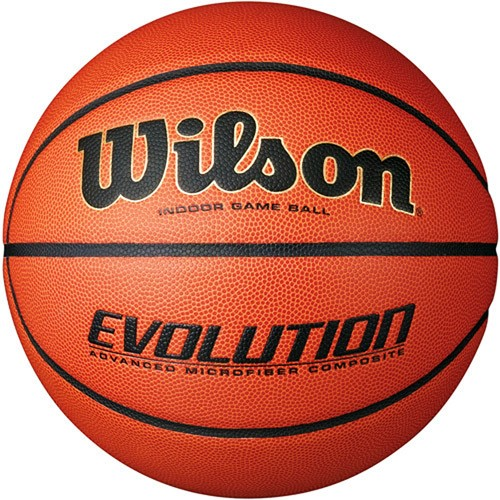 "Wilson Evolution Indoor Game Basketball, Size 6 (28.5"") by Wilson Sporting Goods"