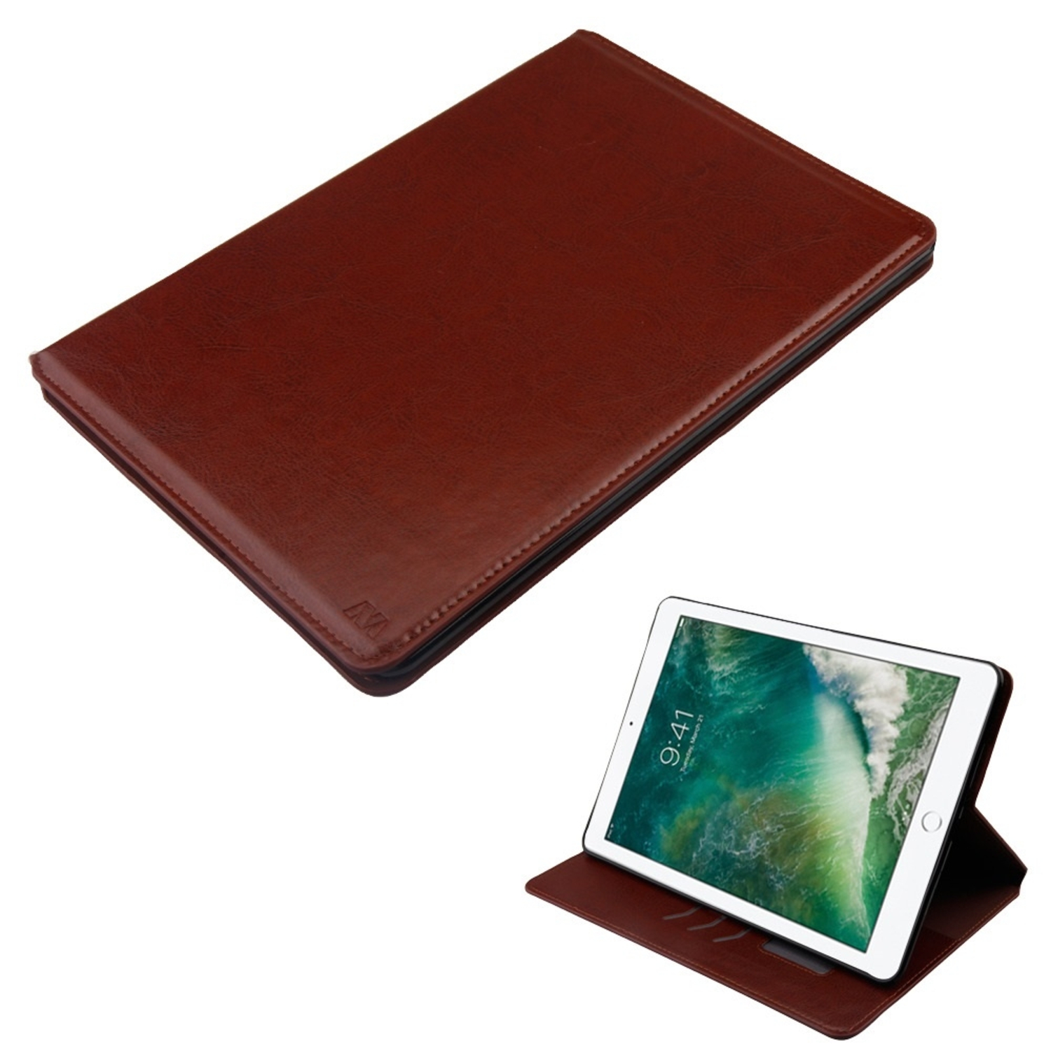 """Insten Wallet Leather Credit Card Stand Folio Case for Apple iPad Pro 10.5"""" - Hot Pink"""