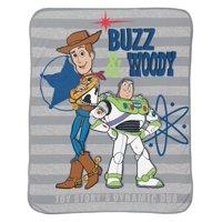 Disney Toy Story 4 Throw with Buzz & Woody