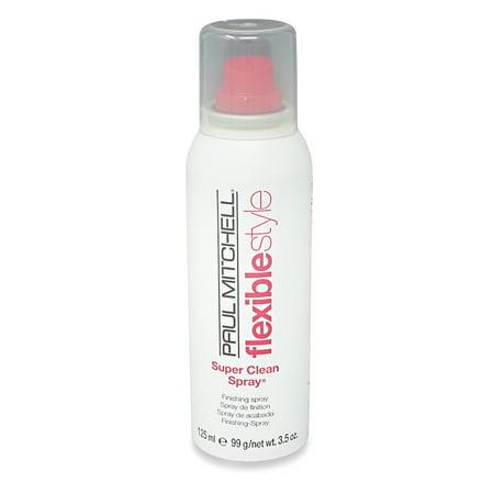 Paul Mitchell Super Clean Flexible Style Finishing Hair Spray, 3.5 Oz