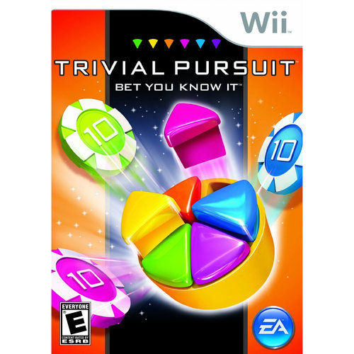 Trivial Pursuit Bet You Know It Wii Game