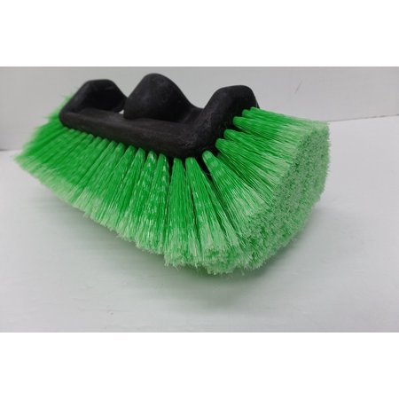 Sm Pull Green - S.M. Arnold 83‑040 5 Level Soft Bristle Truck Brush, Green