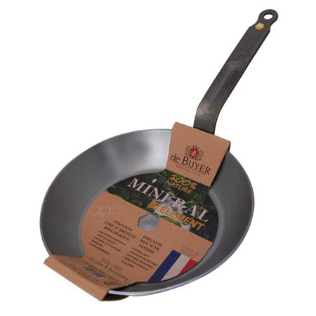 De Buyer Mineral B Element Non-Stick Frying Pan (De Buyer Mineral B Country Fry Pan)