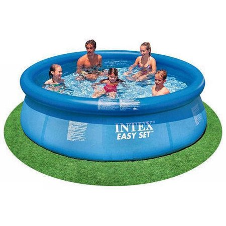 """Intex 10' x 30"""" Easy Set Above Ground Inflatable Family Swimming Pool w/o Pump"""