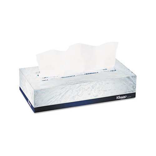 Kimberly-Clark Professional Kleenex Facial 2-Ply Tissue - 125 Tissues per Box / 48 Boxes per Carton