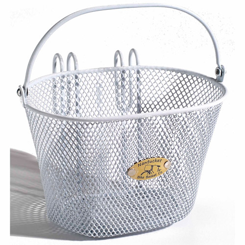 Surfside Children's Mesh Basket, White